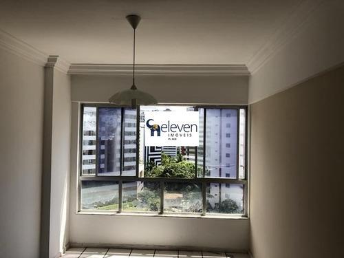 apartamento para venda pituba, salvador  3 dormitórios sendo 1 suíte, 1 sala, 1 banheiro, 1 vaga, 93 m². - ap00674 - 32371215