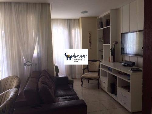 apartamento para venda pituba, salvador 3 dormitórios sendo 1 suíte, gabinete reversível em sala de home, 1 sala, 1 banheiro, 1 vaga, 112 m². - tjl52 - 4703412
