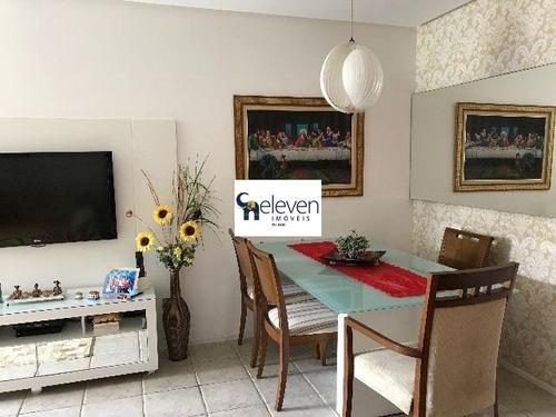 apartamento para venda pituba, salvador com: 2 dormitórios sendo 1 suíte, 1 sala, 1 banheiro, 2 vagas e 85 m². - ap00289 - 32095248