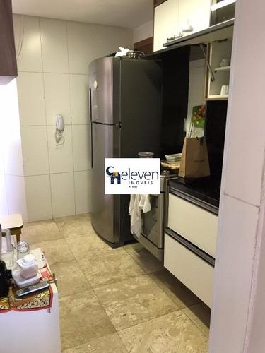 apartamento para venda pituba, salvador decorado 3 dormitórios sendo 2 suítes, 1 sala, 1 banheiro, 3 vagas, 140 m². - tnv7036 - 31949999
