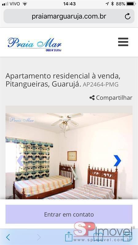 apartamento para venda por r$430.000,00 - centro de guarujá, guarujá / sp - bdi18896