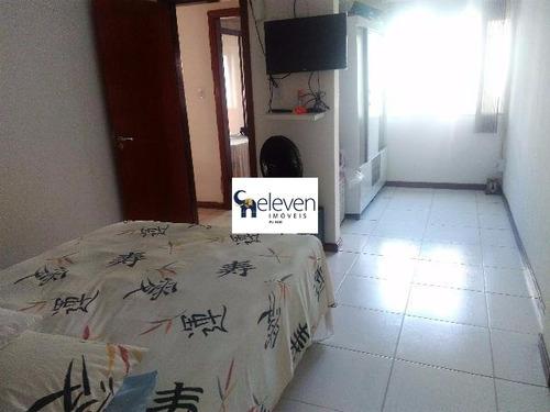 apartamento para venda praia do flamengo, salvador nascente 2 dormitórios sendo 1 suíte, 1 sala, varanda, 1 banheiro, 1 vaga, 87 m². aceita financiamento. - tg121 - 4813610