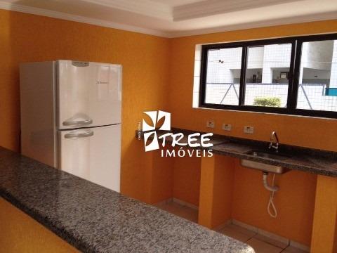 apartamento para venda - prais grande. au: 80 m² 2 dormitórios sendo 1 suíte, sala para 2 ambientes, cozinha, lavanderia, 1 banheiro, 1 vaga coberto. apenas 2 quadras da praia. ana - ap00293 - 4414121