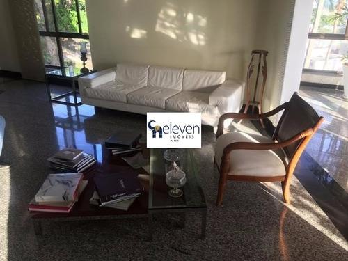 apartamento para venda rio vermelho, salvador 4 dormitórios sendo 4 suítes, 2 salas, 1 banheiro, cozinha, área de serviço, dois quartos de empregada, varanda vista mar, 4 vagas, 31 - tjl64 - 4704828