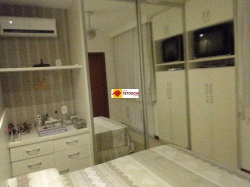 apartamento para venda stiep, salvador 3 dormitórios sendo 1 suíte - tnv121 - 4205844