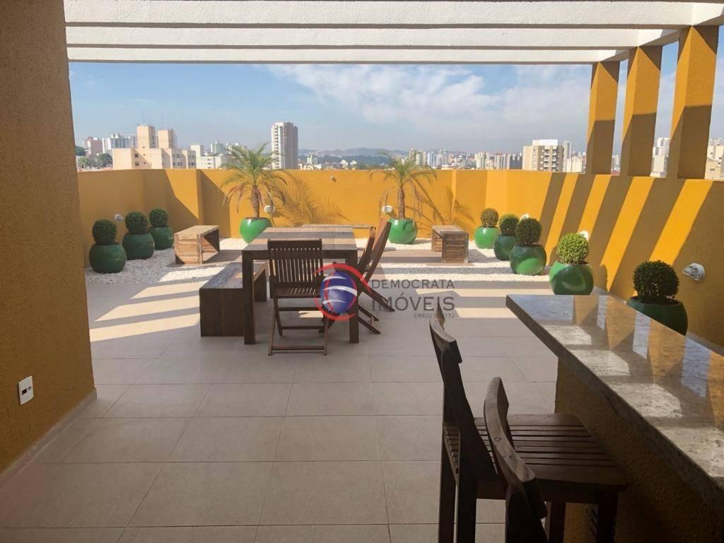 apartamento para venda, vila valparaíso, santo andré. ap4320 - ap4320