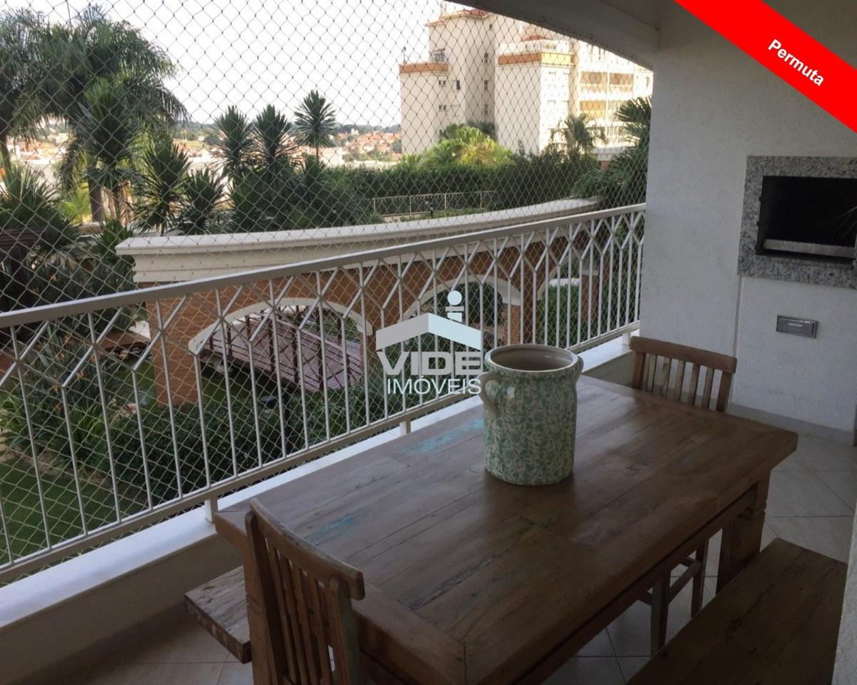 apartamento para vender em campinas- mansões santo antonio - ap09880 - 34797880