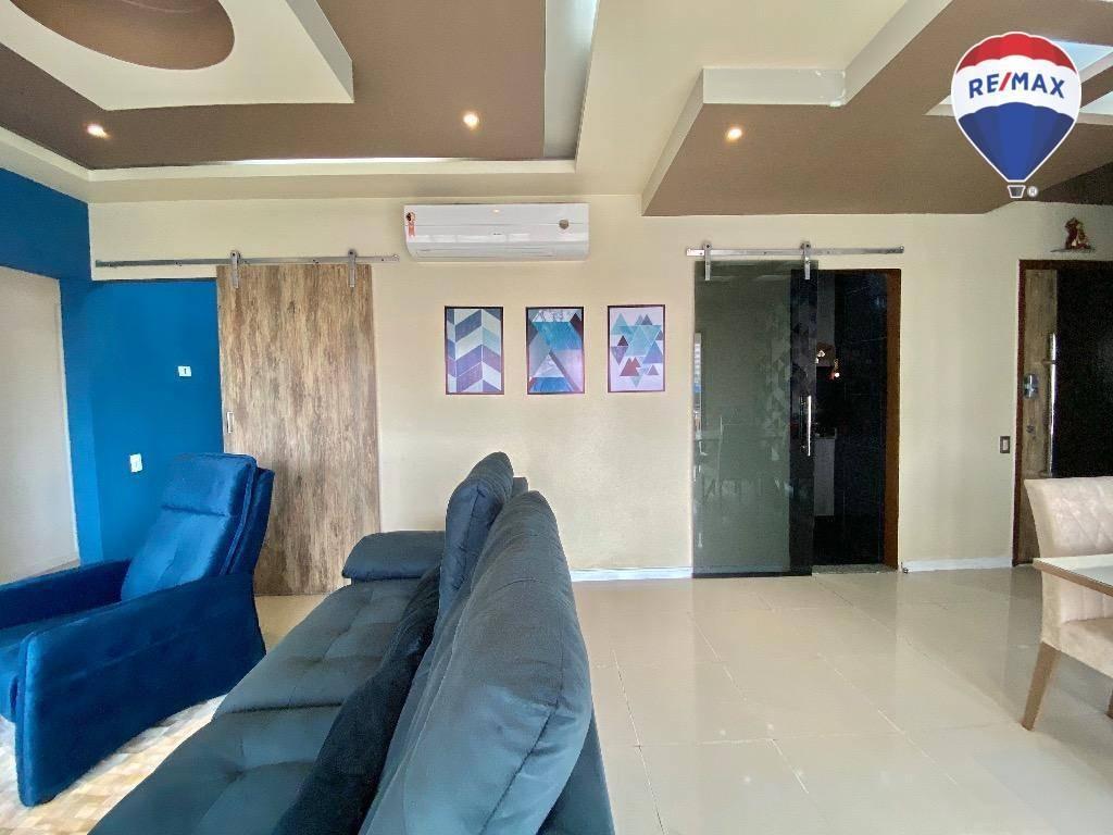 apartamento parc paradiso, 118 m² - nazaré - belém/pa - ap0436