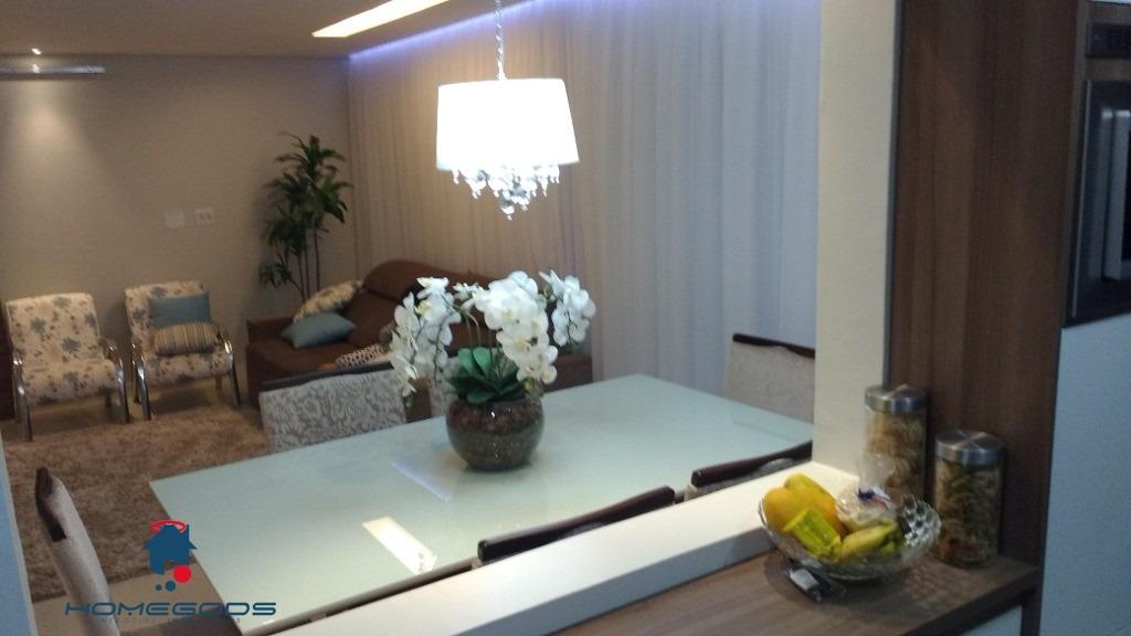apartamento parque prado, convivence, 4 dorm, 3 suit, 2 banheiro, 2 sala, 3 vagas, 127m - ap00823 - 33766825