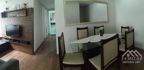 apartamento parque são vicente ref: 3887