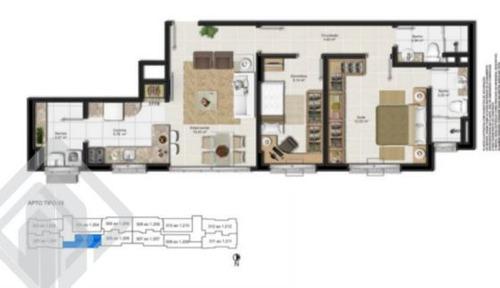 apartamento - passo da areia - ref: 162920 - v-162920