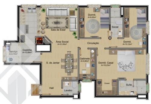 apartamento - passo da areia - ref: 199544 - v-199544