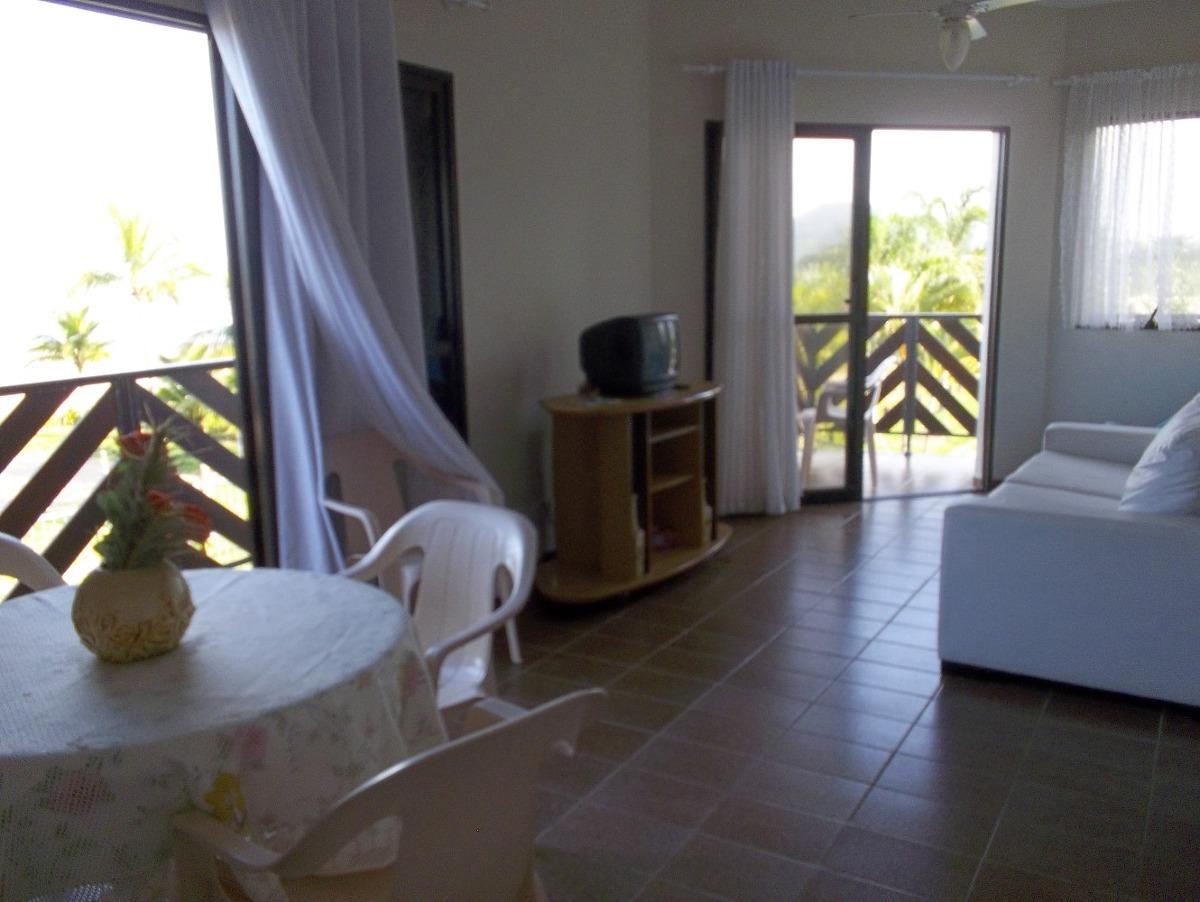 apartamento pe na areia - bertioga- 2dorm - vista eterna mar
