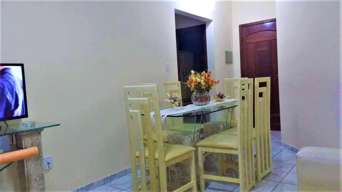apartamento pé na areia em mongaguá!!  ref. ap0024