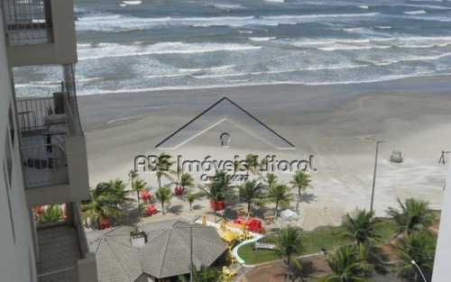 apartamento pé na areia no flórida em praia grande-sp