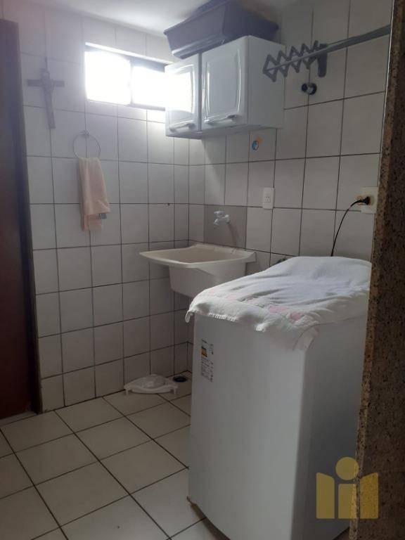 apartamento pedras do farol com 3 dormitórios à venda, 111 m² por r$ 250.000 - gruta de lourdes - maceió/al - ap0507