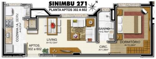 apartamento - petropolis - ref: 169434 - v-169434