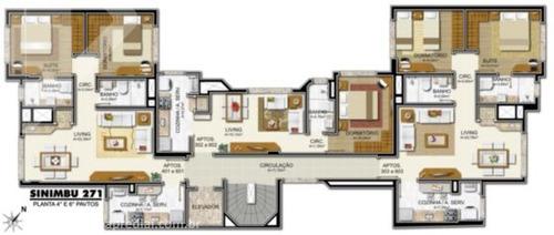 apartamento - petropolis - ref: 169438 - v-169438