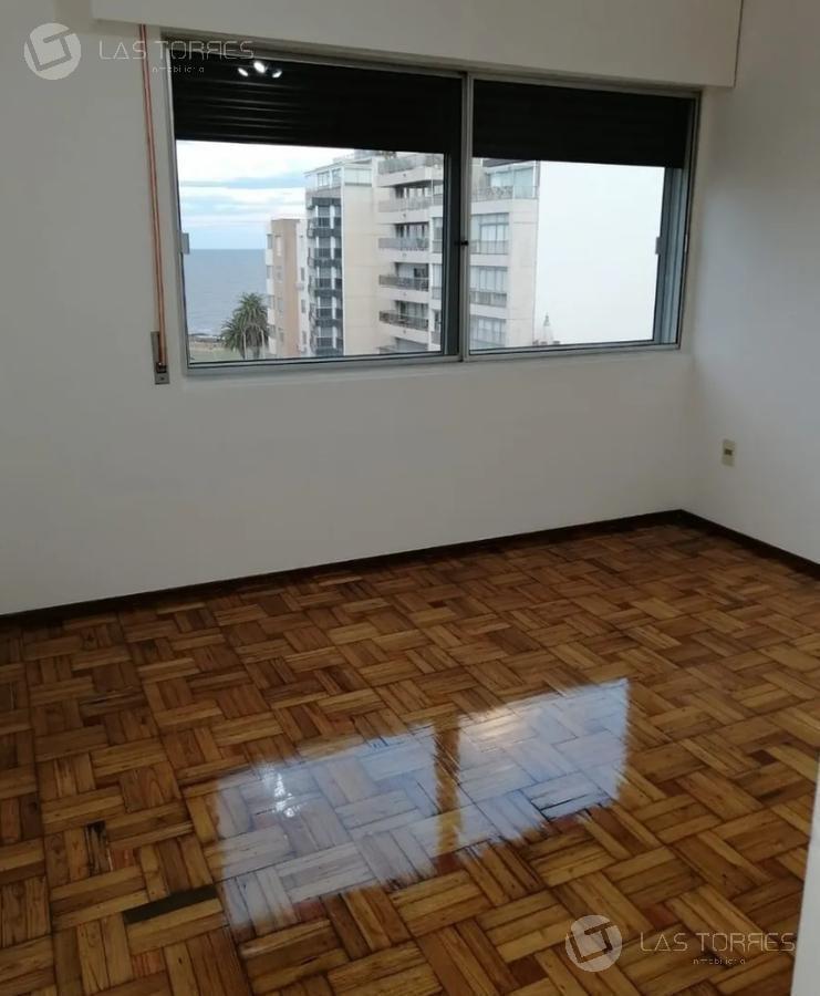 apartamento - pocitos - piso alto, garage, frente, g.c 4.500