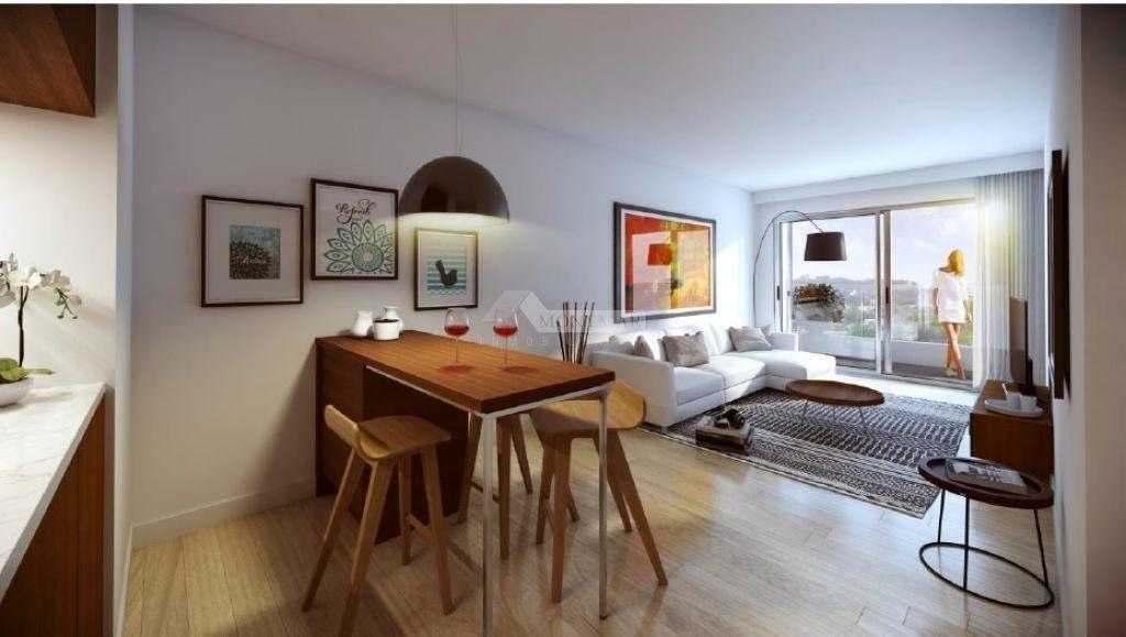 apartamento pocitos venta 1 dormitorio buxareo y 26 de marzo, ed. infinity 26 penthouse con parrilla