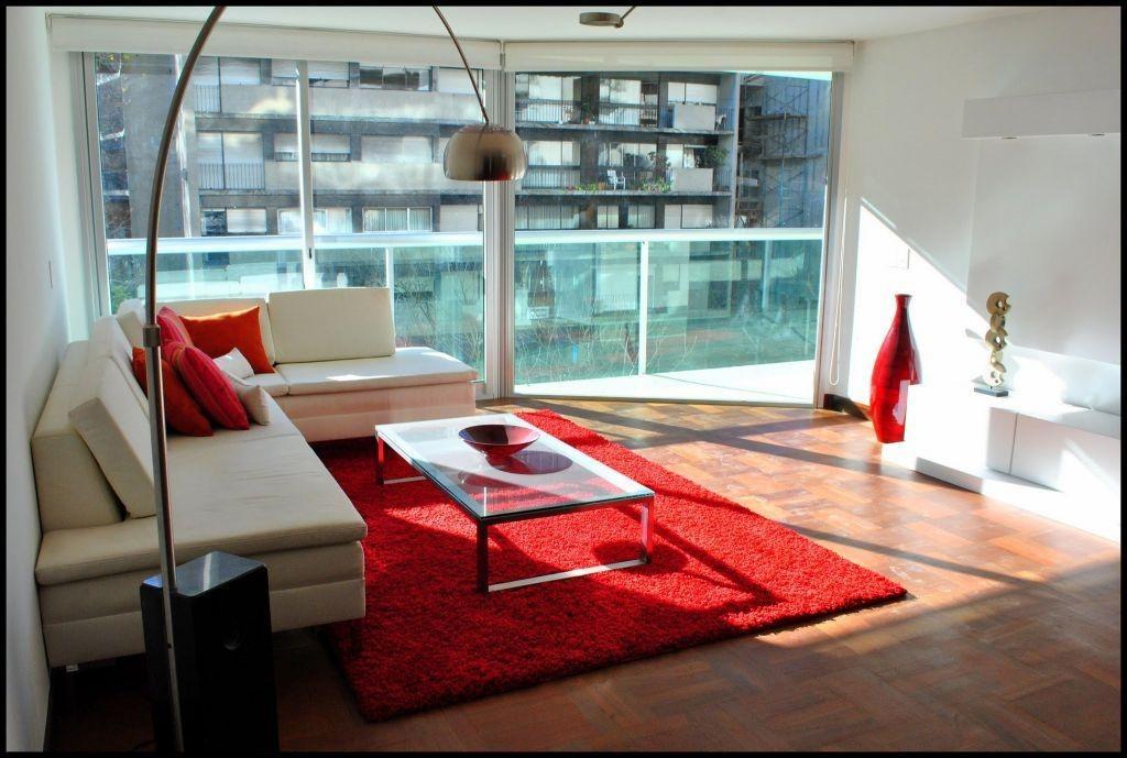 apartamento pocitos venta 3 dormitorios av. brasil y lazaro gadea, estar, serv, garaje