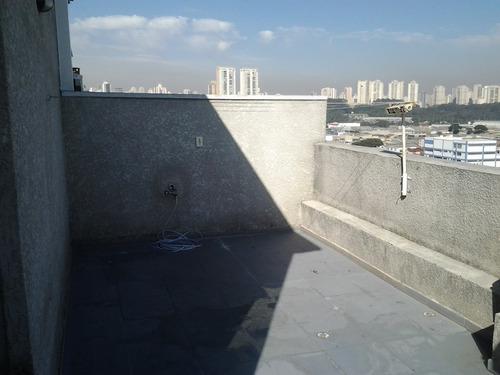 apartamento pq.novo mundo - cobertura / referência 9/6006