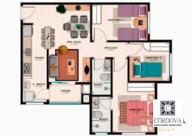 apartamento - praia comprida - ref: 7658 - v-7658