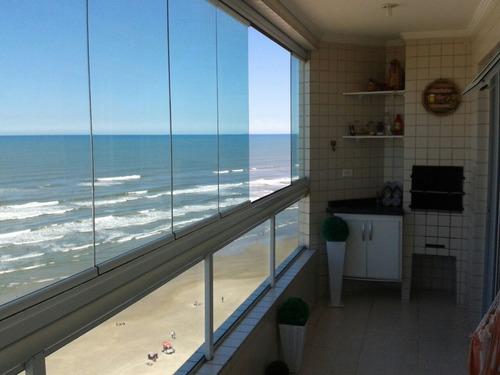 apartamento praia grande temporada de frente para o mar