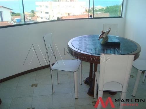 apartamento praia pirangi mobiliado com visão p/ o mar