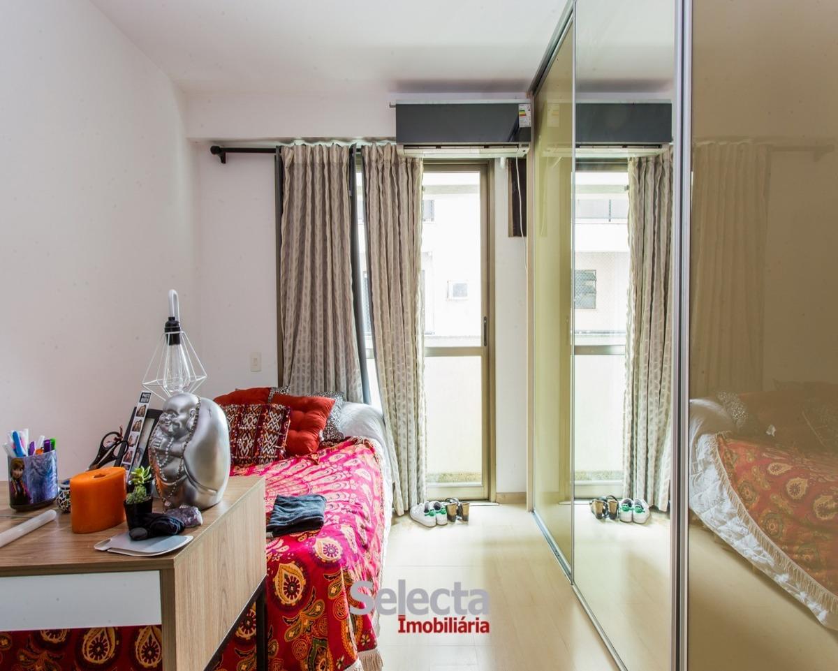 apartamento prédio de alto padrão varandão 4 quartos 2 suites play e 3 vagas - ap00856 - 32937241