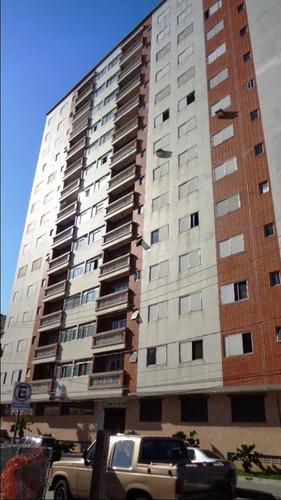 apartamento prédio frente mar guilhermina com elevador e vista mar - ap1946