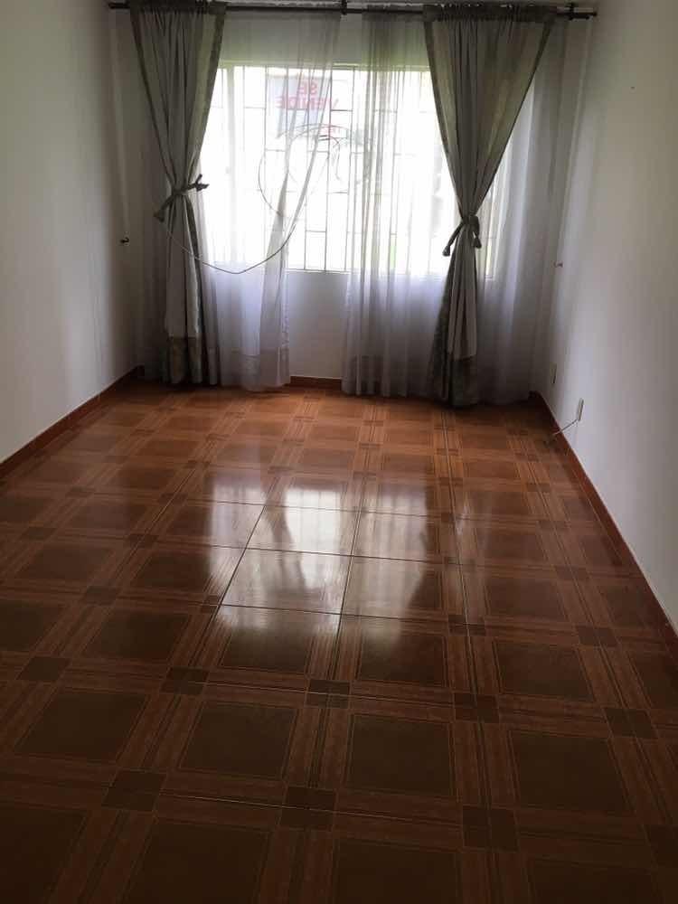 apartamento primer piso bochica alquiler o venta