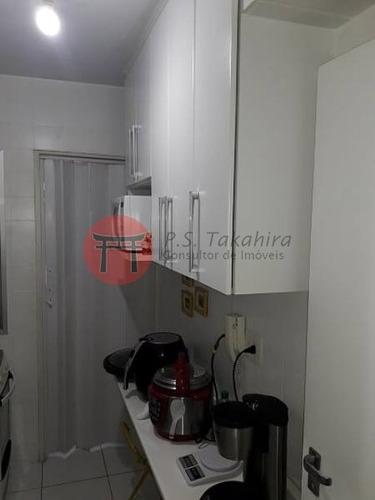 apartamento pronto para morar em vila mariana condomínio life center ii - 4370