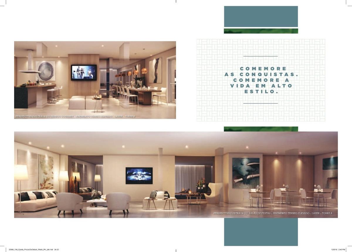 apartamento pronto para morar na mooca 51 m² com vaga lazer verde construtora cyrela