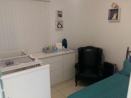 apartamento próximo ao metro jabaquara 51m². - bi25456