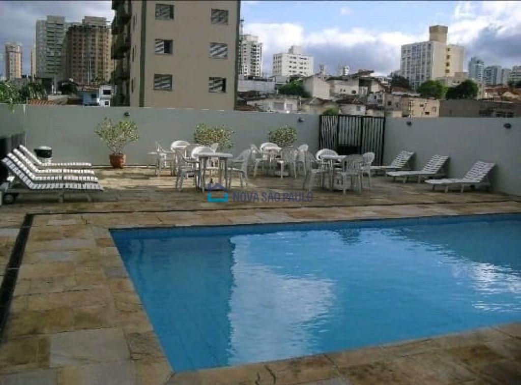 apartamento próximo metrô santa cruz, 3 dormitórios, 1 suíte, 2 vagas, sacada, lazer! - bi26413