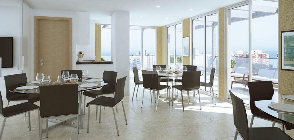 apartamento punta carretas venta 1 dormitorio 21 y williman, edificio alquimia