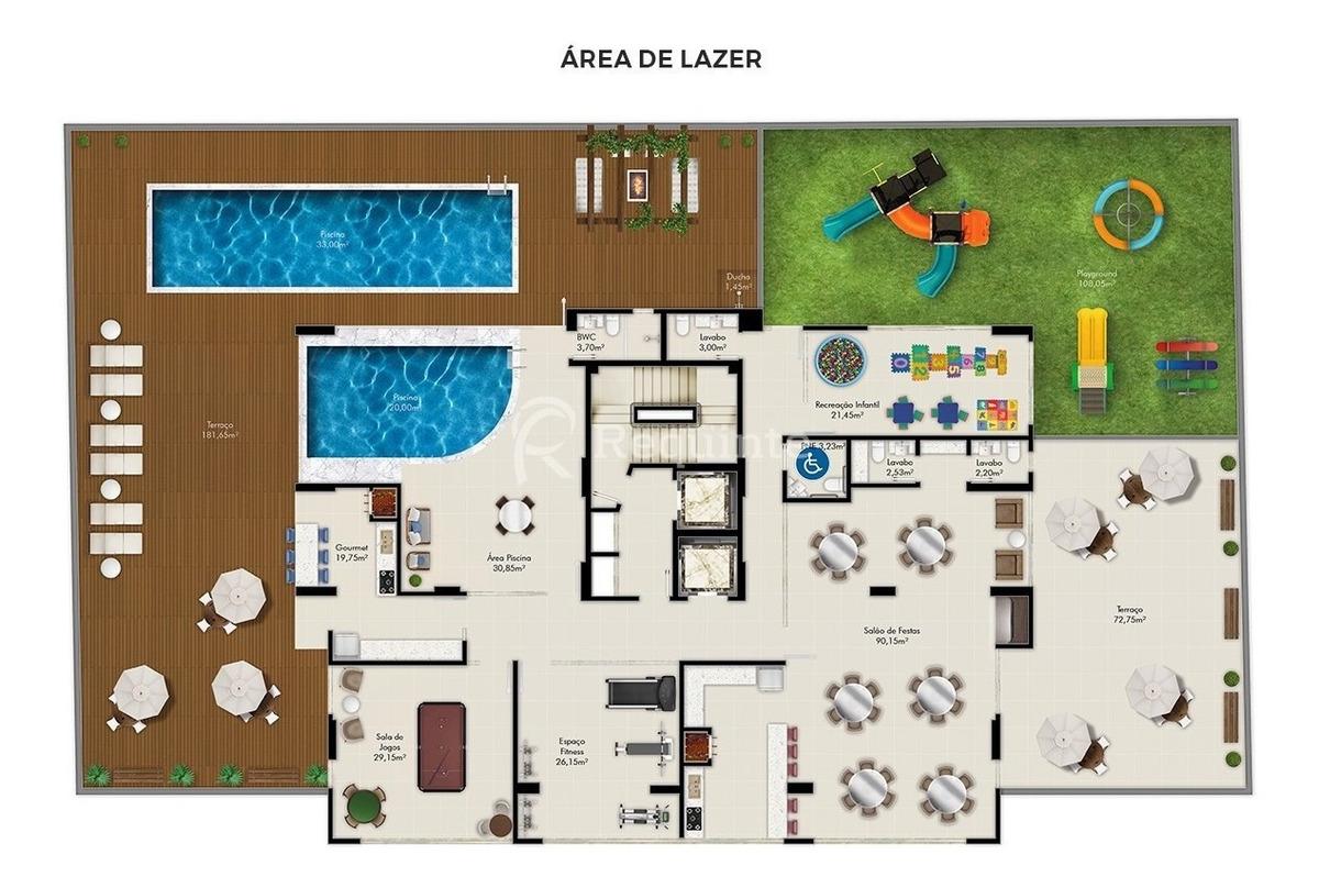 apartamento quadra mar com 4 suítes em itapema - 1760