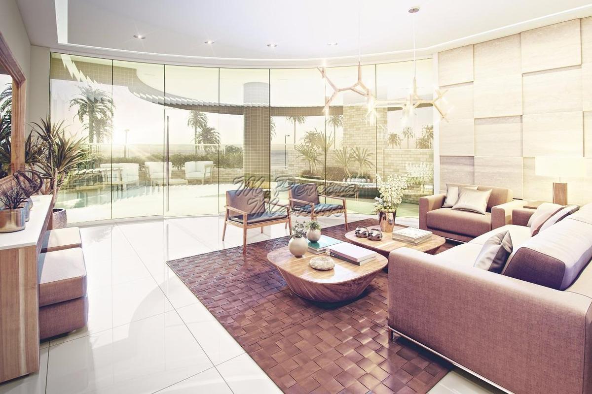 apartamento r$56mil de entrada- frente a praia mongaguá