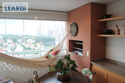 apartamento real parque  - são paulo - ref: 401677