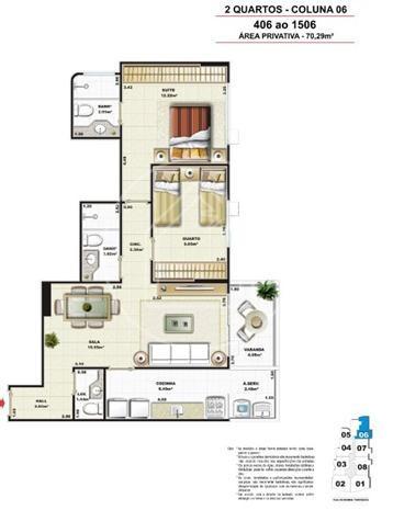 apartamento - ref: 557738