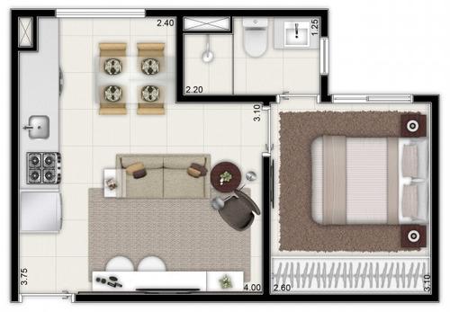 apartamento - ref: 666f03