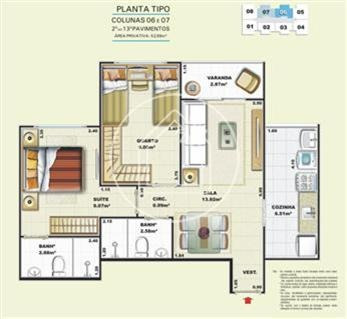 apartamento - ref: 724011