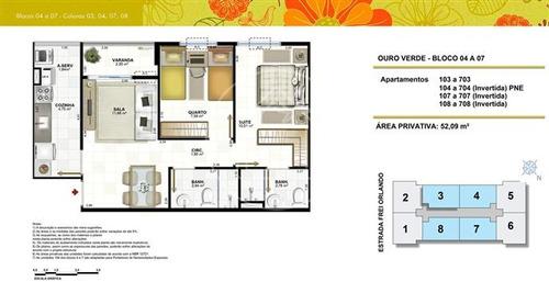 apartamento - ref: 734899