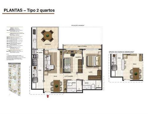 apartamento - ref: 738423