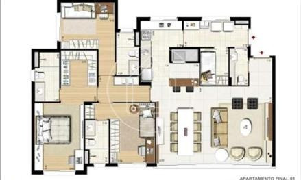 apartamento - ref: 753501