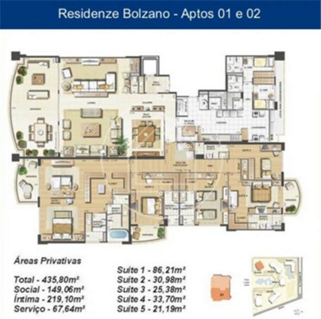 apartamento - ref: 760564
