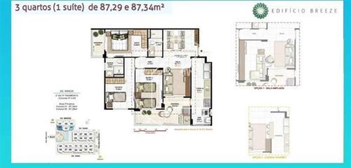 apartamento - ref: 774790