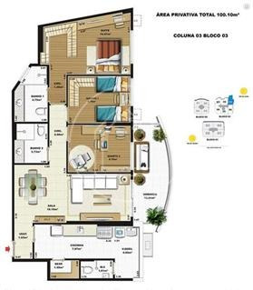 apartamento - ref: 776364