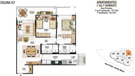 apartamento - ref: 791580